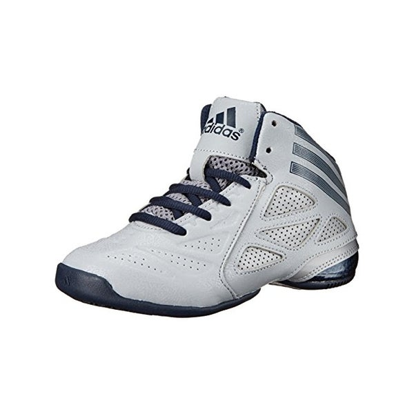 Adidas Boys Performance Basketball Shoes Faux Leather