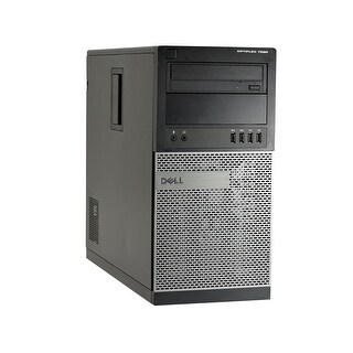 Dell OptiPlex 7020-T Core i7-4770 3.4GHz 4th Gen CPU 8GB RAM 2TB HDD Windows 10 Pro Computer (Refurbished)