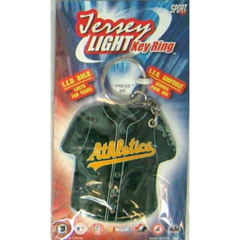 Oakland Athletics Keychain - Jersey Keylight