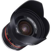 Rokinon 12mm f/2.0 NCS CS Lens for Canon EF-M Mount (Black) - Black