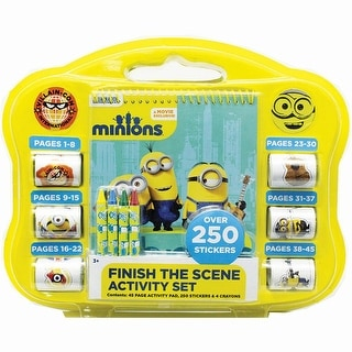 Minions Finish the Scene Sticker Activity Set