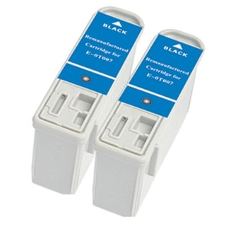 Replacement Ink For Epson T007201 / E-0T007 (2-Pack)