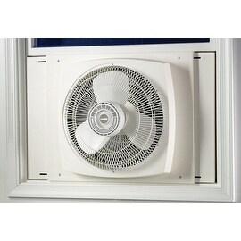 """Lasko 2155A High Velocity Window Fan, 16"""", 3 Speed, White"""