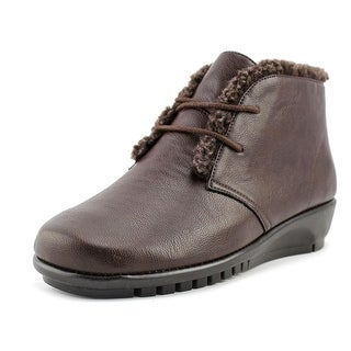 A2 By Aerosoles Calendar Women  Round Toe Synthetic Brown Chukka Boot