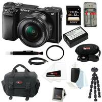 Sony Alpha a6000 ILCE-6000L/B ILCE6000LB 24.3 Interchangeable Lens Camera /w Kit