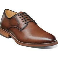 Florsheim Men's Blaze Plain Toe Derby Cognac Leather
