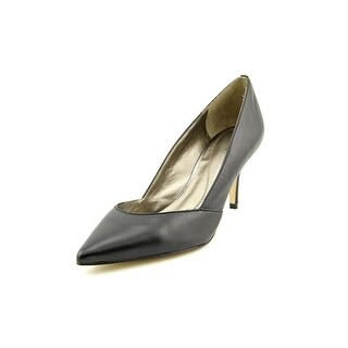 Tahari Carat Pointed Toe Leather Heels