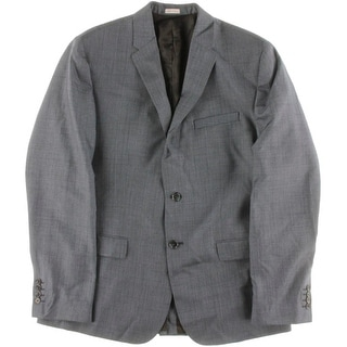 Calvin Klein Mens Woven Single Vent Sportcoat