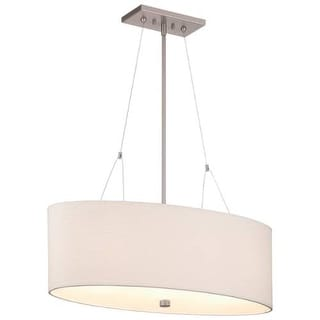 "Forecast Lighting F44736 3 Light 30"" Wide Pendant from the Alexis Collection"