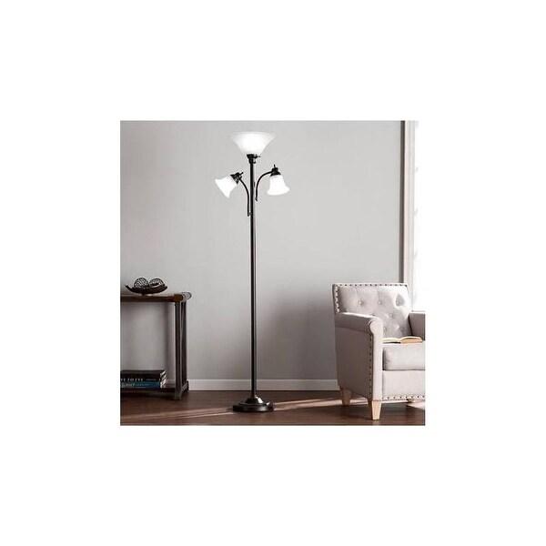 Southern Enterprises LT4142, Orson Floor Lamp - Black