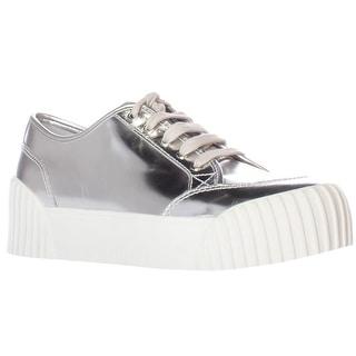 Marc Jacobs Riley Platform Fashion Sneakers - Silver