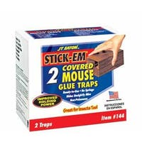 Jt Eaton 144 Stick-Em Covered Mouse Glue Traps