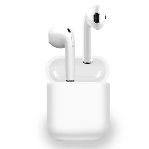 Bluetooth 5.0 EarBuds by Mini Wireless In-Ear Auto Pairing Headset Earphone headphones for iOS Android Devices