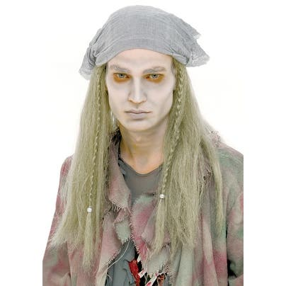 Ghost Stories Pirate Adult Costume Wig - Yellow