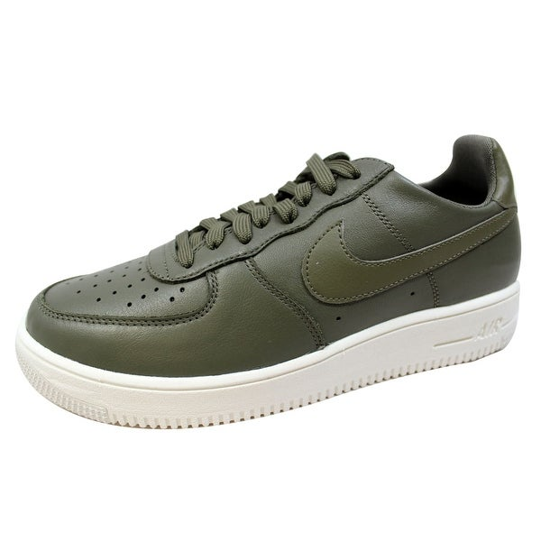 Nike Men's Air Force 1 Ultraforce Leather Medium Olive 845052-201