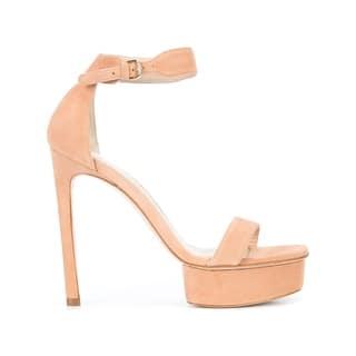 adb0c984733 Stuart Weitzman Womens Newdeal Platform Sandals Solid Block Heel. New  Arrival. Quick View