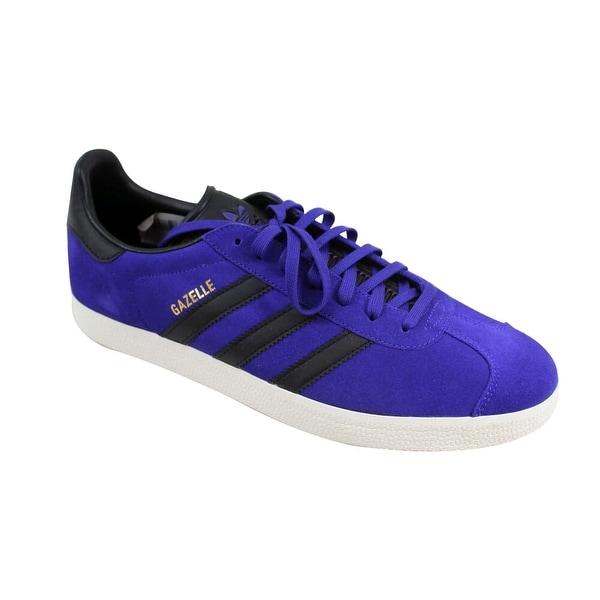Shop Adidas Men's Gazelle Purple/Black