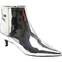 Charles by Charles David Women's Kiss Bootie Silver Speccio Smooth