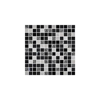 "Daltile UP11MSP  Uptown Glass - 1"" x 1"" Square Mosaic Wall Tile - Smooth Glass Visual"