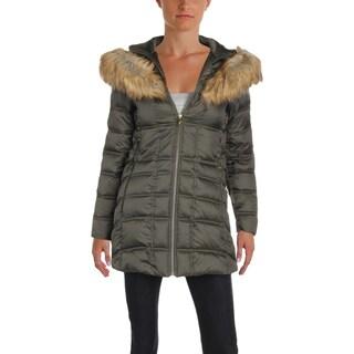 Betsey Johnson Womens Parka Coat Winter Anorak