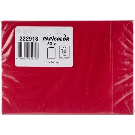 Red - Papicolor A6 Folded Cards 50/Pkg