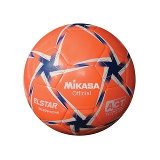 Mikasa No 4 SE Series Soccer Ball, Orange/White/Blue