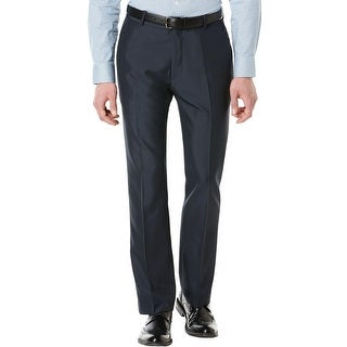 Perry Ellis Mens Dress Pants Modern Fit Tonal Pattern