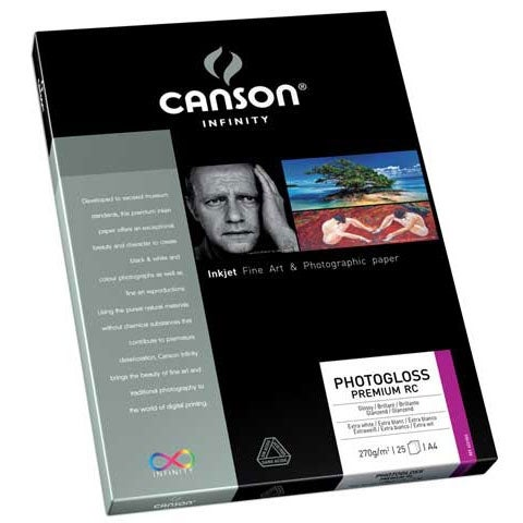 "Canson - Infinity PhotoGloss Premium RC 270 Photo Paper - 13"" x 19"", 25 Shts./Pkg."