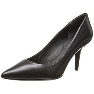 Kenneth Cole New York Womens Lori Leather Pointed Toe Pumps - 8.5 medium (b,m)