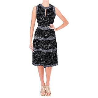 MICHAEL Michael Kors Womens Nora Casual Dress Printed Keyhole (2 options available)