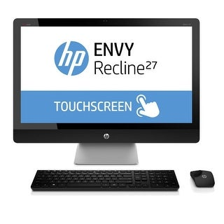 """HP ENVY 27-K151 27"""" Touch AIO Desktop Intel i5-4570T 2.9GHz 8GB 1TB + 8GB W10"""