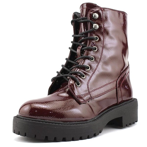 Coolway Draco Women Round Toe Synthetic Combat Boot
