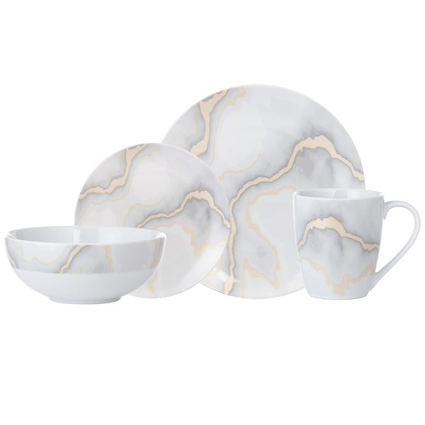 "Dinnerset 16PC Electric Marble - 11"" x 0'5"". Opens flyout."