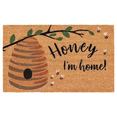 Liora Manne Natura Honey Im Home Outdoor Mat Natural