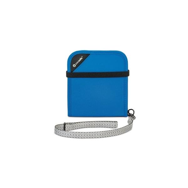 Pacsafe V100 Anti-Theft RFID Blocking Bi-Fold Wallet w/ 5 Card Slots & Detachable Wrist Strap