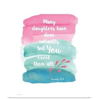Jo Moulton Poster Print entitled Daughter
