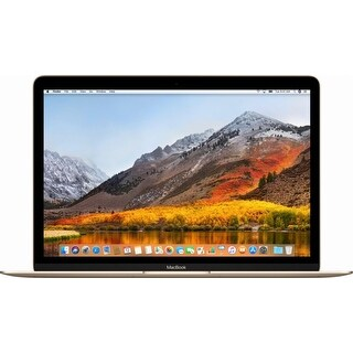 "Apple - Macbook® - 12"" Display - Intel Core M3 - 8GB Memory - 256GB Flash Storage (Latest Model) - Gold"