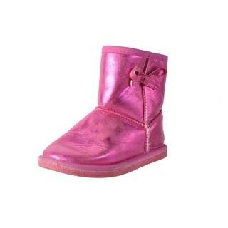 Western Chief Girls Elsa Metallic Ankle Boots - 1
