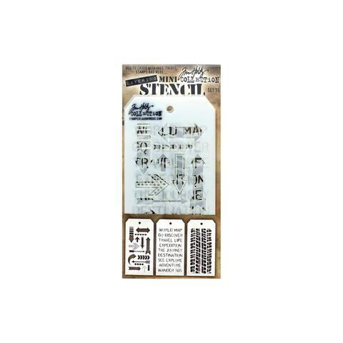 Th-mst015 stampersa layering stencil tholtz mini 15