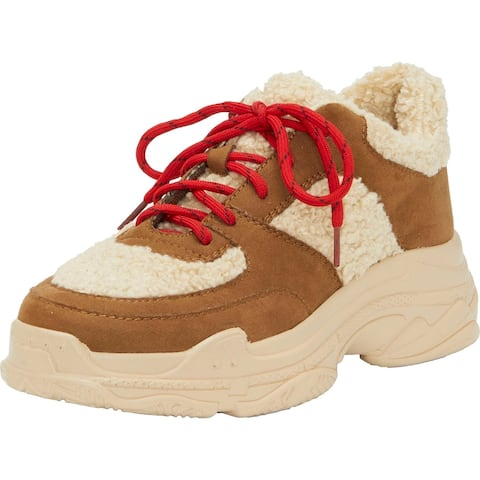 Jessica Simpson Womens Sporta 2 Hiking Shoes Synthetic Outdoors - Canyon Tan