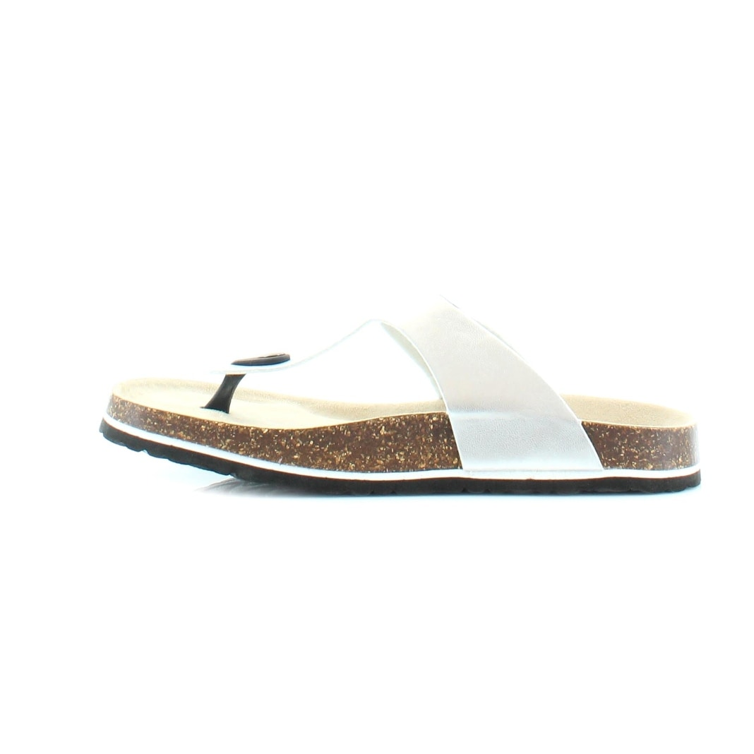 740ea931d81a8 Shop J-41 Laura Too Women s Sandals   Flip Flops Silver - Free Shipping On  Orders Over  45 - Overstock.com - 19969352