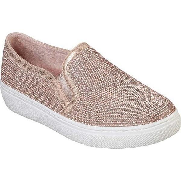 b7e6286e469 Shop Skechers Women's Goldie Flashow Slip-On Sneaker Rose Gold - On ...