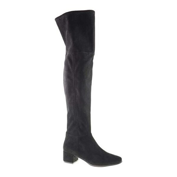 0565ba26556 Shop Chinese Laundry Women s Felix Over the Knee Boot Black Suedette ...