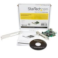 Startech 4 Port Pci Express Low Profile High Speed Usb Card (Pexusb4dp)