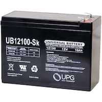 Upg 85968/D5719 Sealed Lead Acid Batteries (12V; 10Ah; Ub12100S)