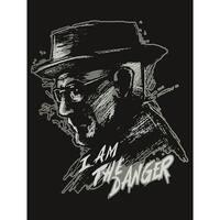 "Breaking Bad ""I Am The Danger"" 45""x60"" Fleece Throw Blanket - Multi"