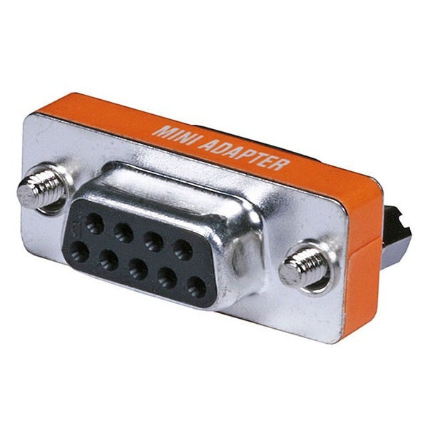 Monoprice DB9 Female/Female Mini Null Modem Adapter