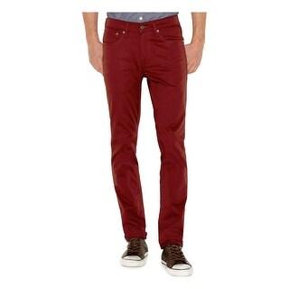 Levi's Mens Colored Skinny Jeans Denim Commuter
