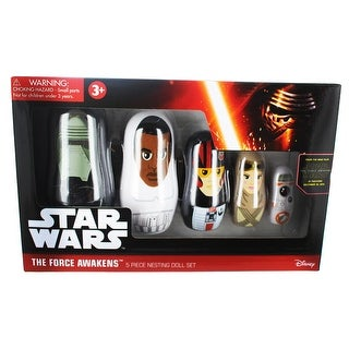 Star Wars: The Force Awakens 5-Piece Nesting Doll Set