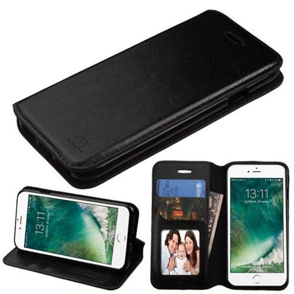 Insten Leather Case Cover with Stand/ Wallet Flap Pouch/ Photo Display For Apple iPhone 7